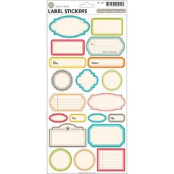 "Label Midway Cardstock Stickers 5.5""x12"""