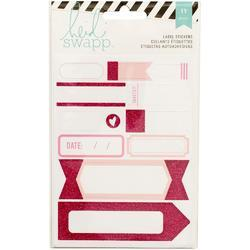 Label Stickers – Pink