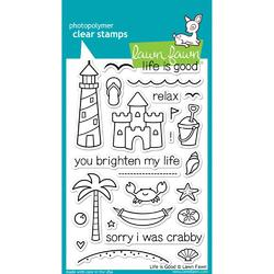 Life is Good Clear Stamps - 1