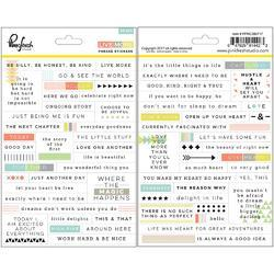 """Live More Cardstock Stickers 5""""X7"""" 2/Pkg"""