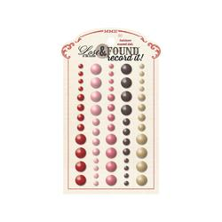 Lost & Found Record It! Adhesive Enamel Dots 60/Pkg Heirloom