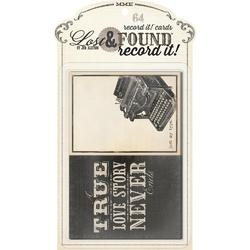 Lost & Found Record It! Journal Cards 64/Pkg Antique