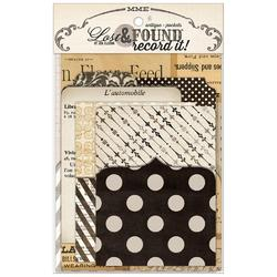 Lost & Found Record It! Pockets 6/Pkg Antique