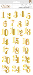 Magical - 25 Days - Foil Chipboard Thickers – Gold