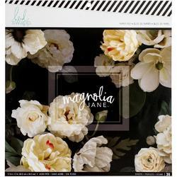 "Magnolia Jane Single-Sided Paper Pad 12""X12"""