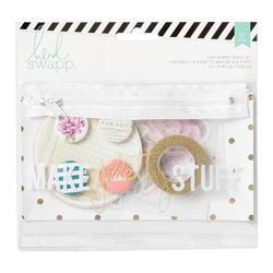 Memory Binder Flea Market Make Pretty Stuff Pouch Kit 37 pcs - 1