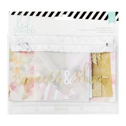 Memory Binder Flea Market Sparkle & Shine Pouch Kit 39 pcs - 1
