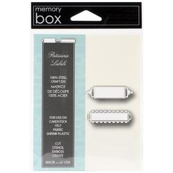 Memory Box Patisserie Labels Die - 1