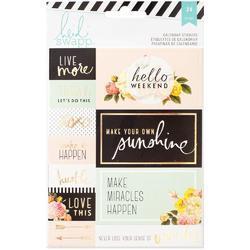 Memory Planner Calendar Stickers