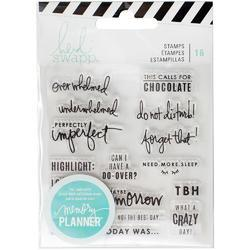 Memory Planner Clear Stamps - Day