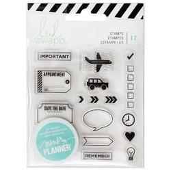 Memory Planner Clear Stamps - Icons