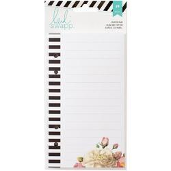Memory Planner Floral List Pad