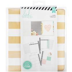 Memory Planner Gold Foil Stripes - Large