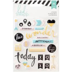 Memory Planner Puffy Stickers