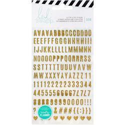 Memory Planner Stickers Glitter Alphabet 2/Pkg