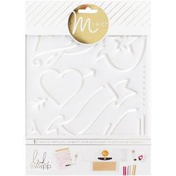 "Minc Tracing LoveTemplate 6.5""x8.5"""