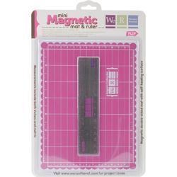 Mini Magnetic Cutting Mat & Ruler Set - 1