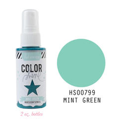 Color Shine Spritz – Mint Green - 1