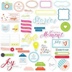 Mix No. 1 Cardstock Die-Cuts 39/Pkg