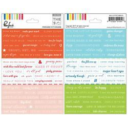 "Mix No. 1 Cardstock Stickers 5""X7"" 2/Pkg - 1"