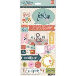 "Mon Ami Cardstock Stickers 6""x12"""