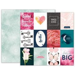 """Moonstruck Double Sided Cardstock 12""""X12"""" - Cards/Doilies"""