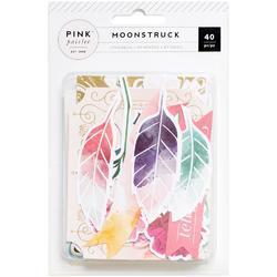 Moonstruck Ephemera Cardstock Die-Cuts wGold Foil 40/Pkg