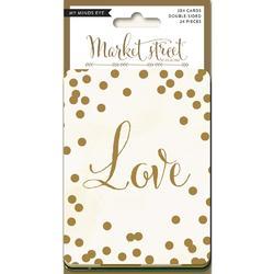 "Nob Hill Market Street Journal Cards 3""x4"" 24pkg - 1"