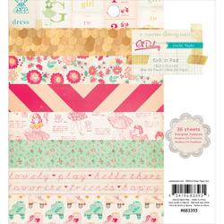 "Oh Darling Paper Pad 6""x6"" 36/Sheets"