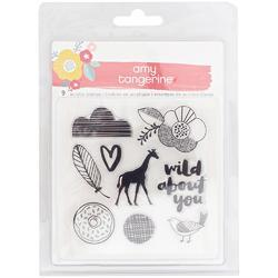 Oh Happy Life Acrylic Stamp
