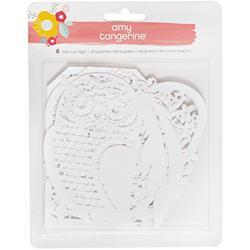 Oh Happy Life Die-Cut Paper Tags 8/Pkg