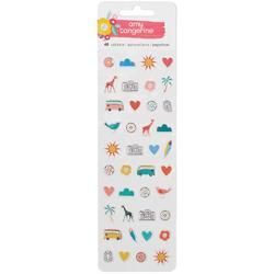 Oh Happy Life Puffy Stickers