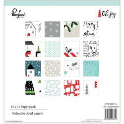 "Oh Joy Double-Sided Paper Pack 12""X12"" 16/Pkg - 1"