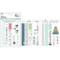 "Oh Joy Washi Stickers 4""X6"" 3/Pkg"