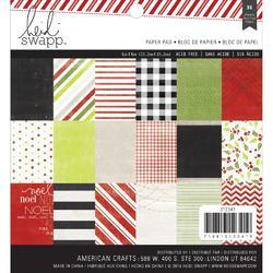 "Oh What Fun Paper Pad 6""x6"" 36pkg"