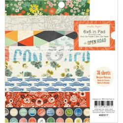 "Open Road Paper Pad 6""x6"" 36pkg"