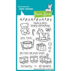 Pa-Rum-Pa-Pum-Pum Clear Stamps - 1
