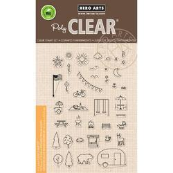 Park Essentials Clear Stamps 4x6