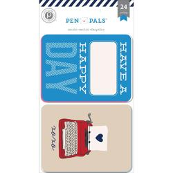 Pen Pals Pocket Cards 3x4 24pkg - 1