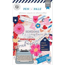 Pen Pals Ephemera Die Cuts 111 pkg - 1