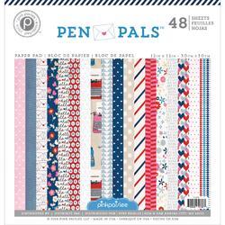 """Pen Pals Paper Pad 12""""x12"""" - 1"""
