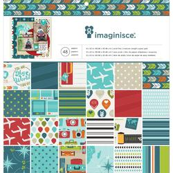 """Perfect Vacation Paper Pad 12""""X12"""" - 1"""