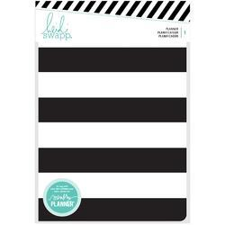 Memory Planner Black & White Stripe - Personal