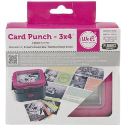 "Picture Punch Square Corners 3""x4"" - 1"