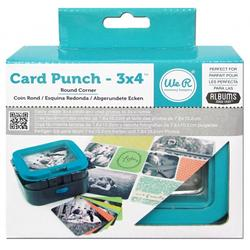 """Picture Punch Round Corners 3""""x4"""" - 1"""
