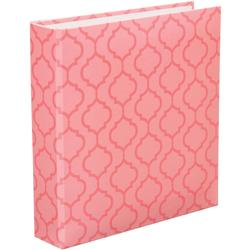 "Pink Lattice Project Life D-Ring Album 6""x8"""