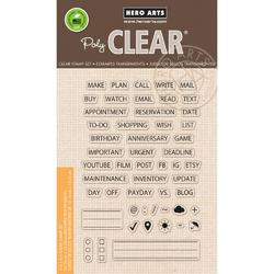 Plan Clear Stamps - 1