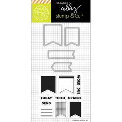Planner Banners Stamps & Die