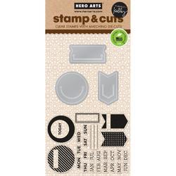 Planner Clips Stamps & Die - 1