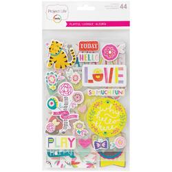 Playful Project Life Chipboard Stickers - 1